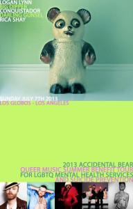 Accidental Bear Los Globos SF Poster