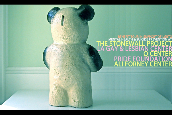 Accidental Bear Summer Benefit Tour for LGBTQ Mental Health Services and Suicide Prevention (2013) Logan Lynn