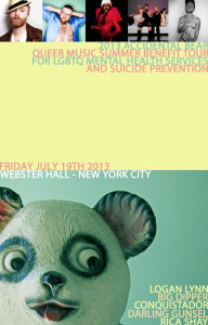 Accidental Bear Webster Hall NYC Poster