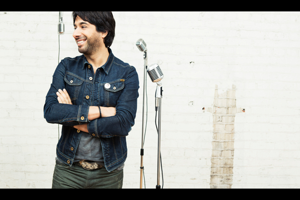 Jian Ghomeshi Interview with Logan Lynn - 2014 Queer Voices - Image Courtesy of Q on CBC Radio