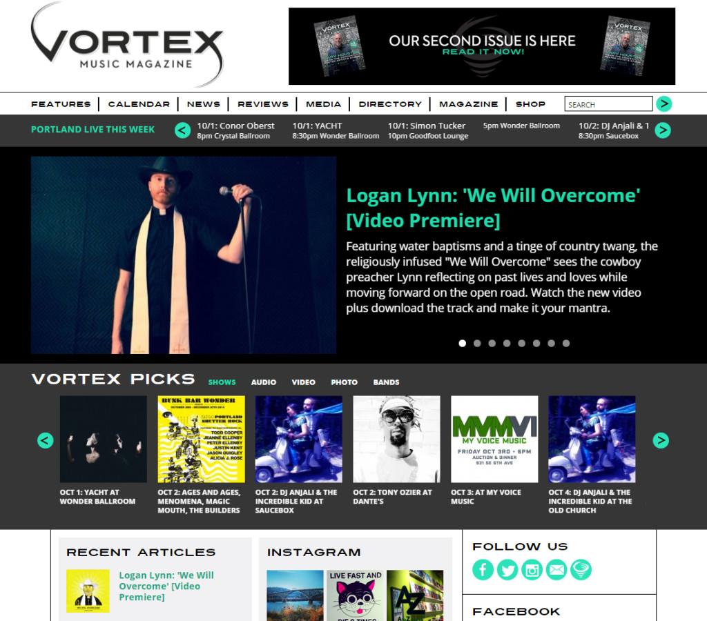 Vortex Homepage