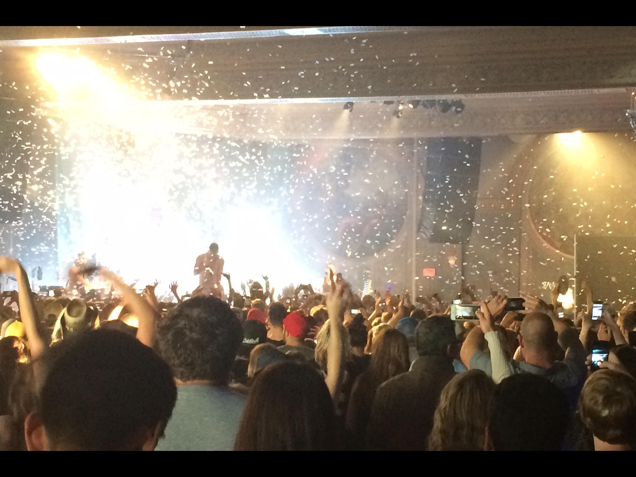 Logan Lynn Bleachers Crystal Ballroom
