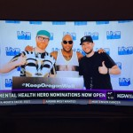 Logan Lynn Flo Rida and Landon Lynn at Keep Oregon Well 2015