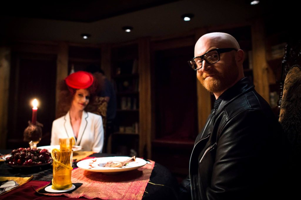 Logan Lynn and Jessica Grimmer in LAST MEAL (2017)