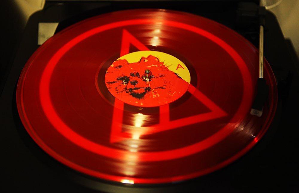 Logan Lynn's ADIEU on 150 gram red double vinyl album (2017 Disarm Magazine)