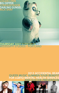 Accidental Bear Mississippi Studios Poster