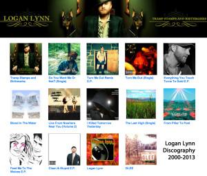 Logan Lynn Discography