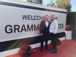 Logan Lynn at Grammy Awards 2017