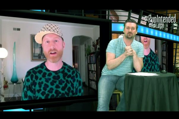 Logan Lynn on In or Out TV with Host Matt Martin (2014)
