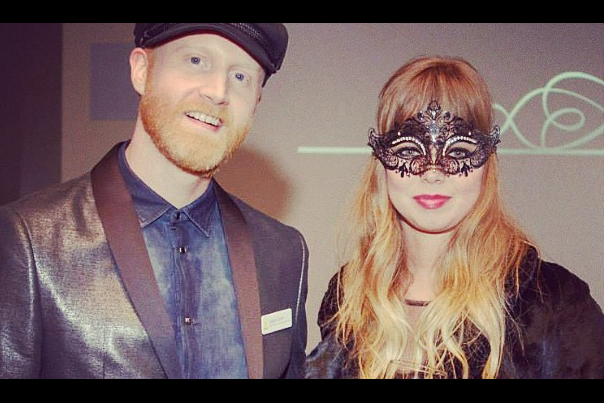 Logan Lynn and Ruth Radelet from Chromatics at Q Center Winter Gala