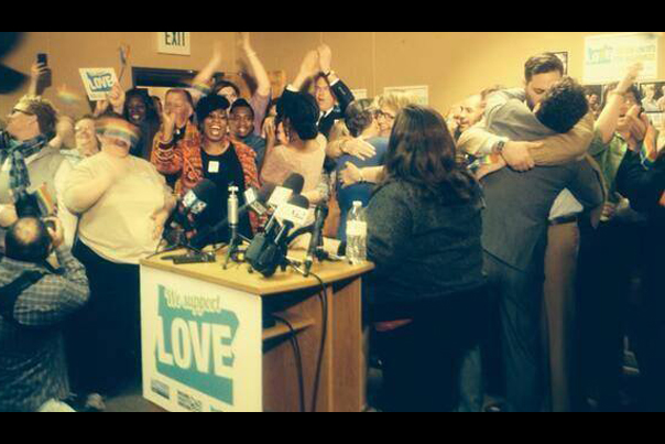 Marriage Equality in Oregon (Photo by The Oregonian - May 19th 2014)