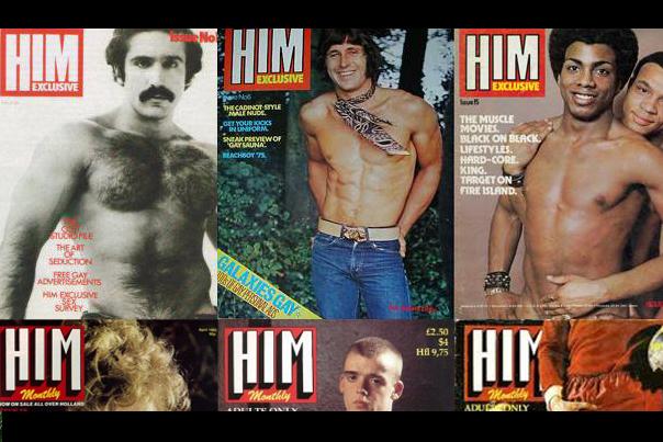 Logan Lynn in HIM Magazine - July 2014 Issue