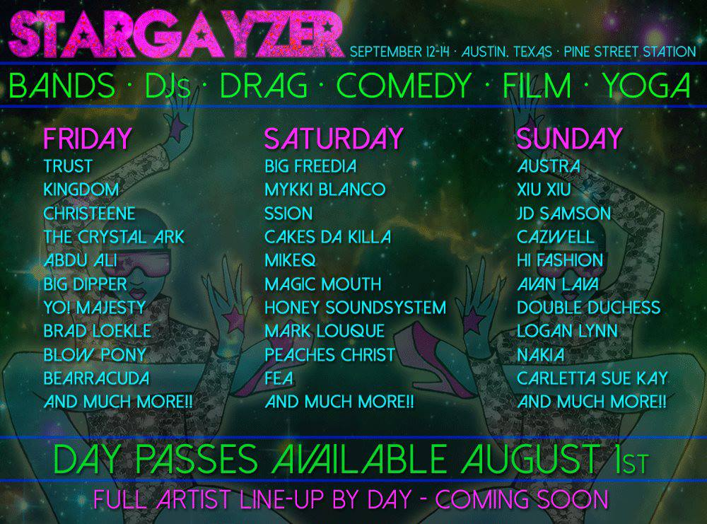 Stargayzer Headliners