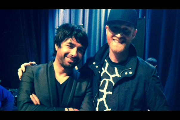 Logan Lynn and Jian Ghomeshi in Portland (2014)