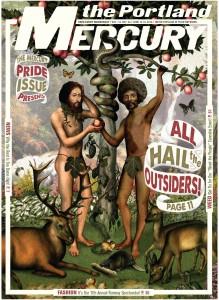 Portland Mercury Queer Issue 2015 Featuring Logan Lynn