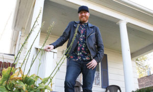 Logan Lynn stopped by a former home in the 600 block of East 10th where he and his family resided during his growing up years in York. Lynn, 37, went from this address to a successful and high-profile career in music and television.