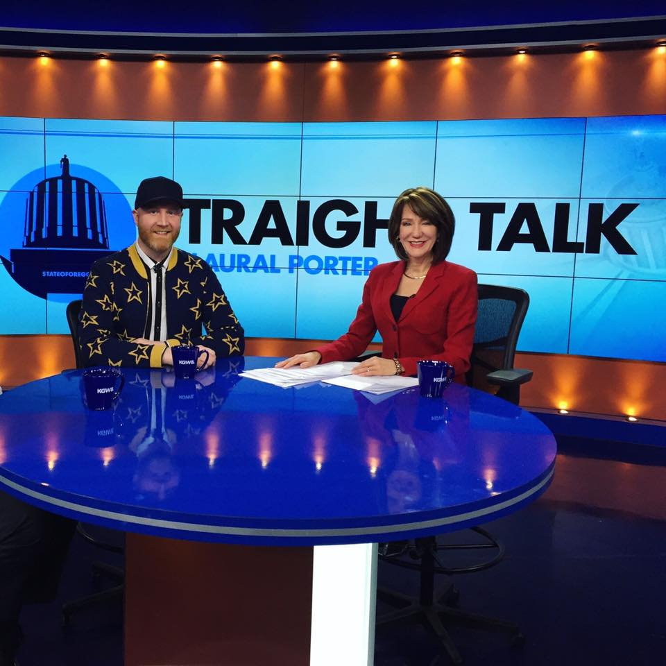 Logan Lynn and Laural Porter on Straight Talk NBC KGW (2017)