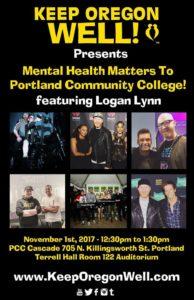 Logan Lynn Keep Oregon Well Event