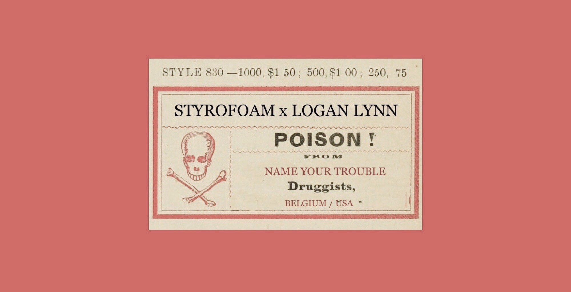 Styrofoam X Logan Lynn Name Your Trouble (2019)